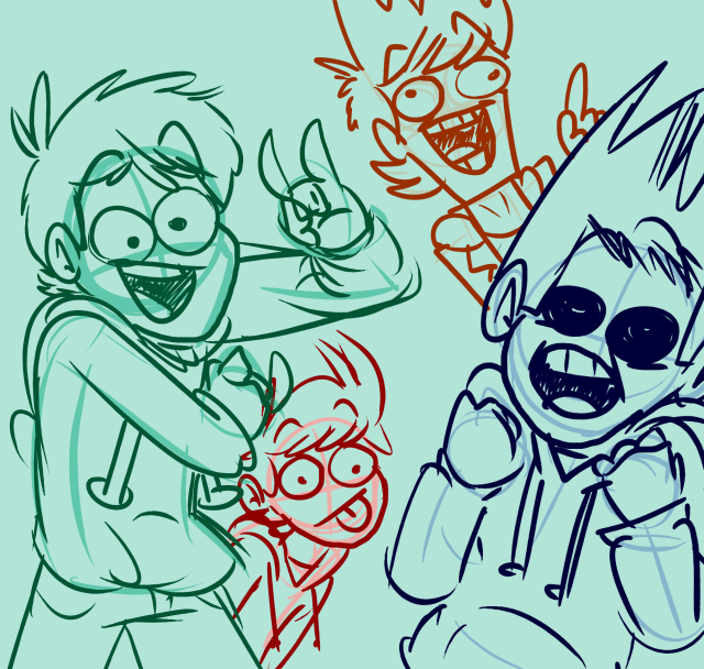 Only If Tom Had Eyes His Eyes Would Be So Derp Oh Well Who Cares Cool Animations Eddsworld Comics Edd