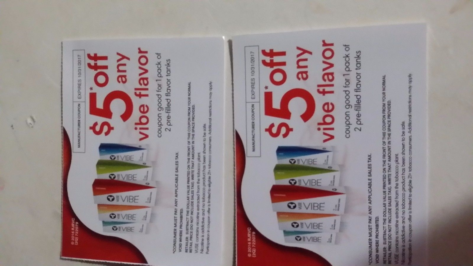 Coupons Vuse Vibe Coupons A 10 Value Buy It Now Only 2 99
