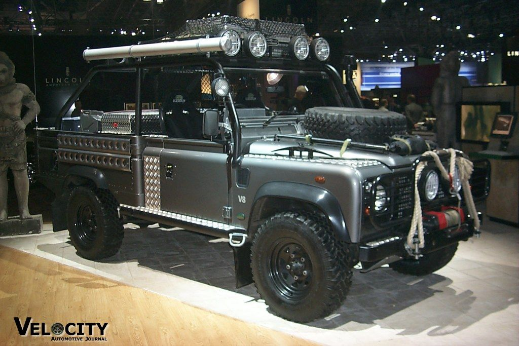 2001 Land Rover Tomb Raider Defender