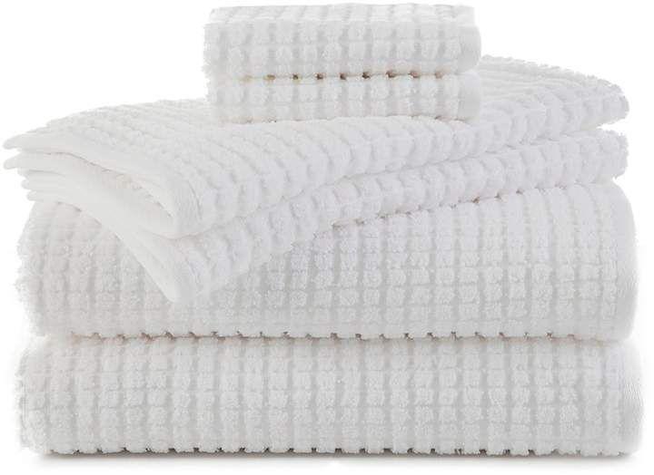 Martex 6piece Staybright Texture Bath Towel Set in 2019