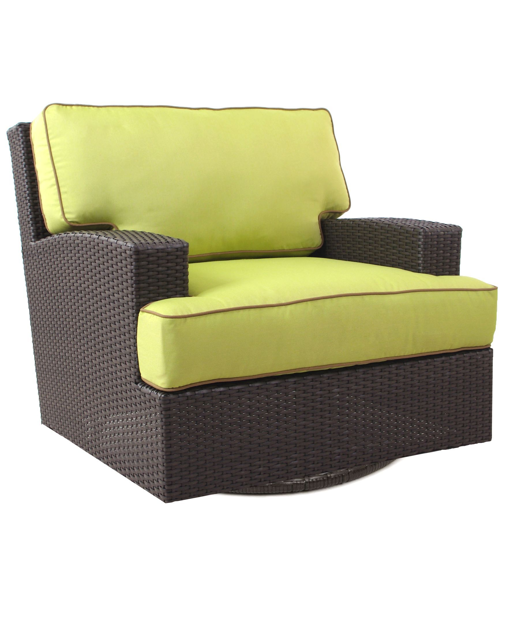 Antigua Wicker Outdoor Swivel Chair   Products   Pinterest