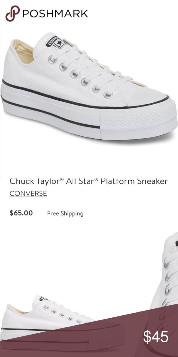all star white platform