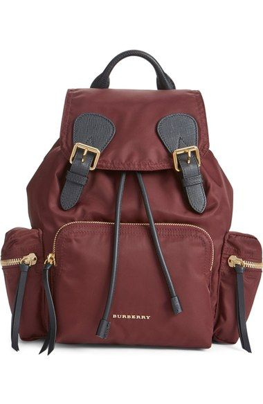 Burberry 'Medium Runway Rucksack' Nylon Backpack available at #Nordstrom
