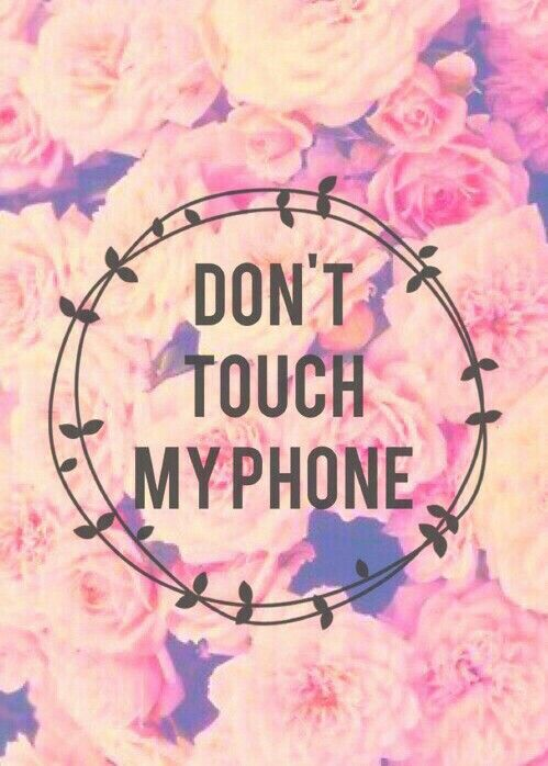 Super Cute Backgrounds Voor Je Telefoon Midnight Rambling Dont Touch My Phone Wallpapers Cute Wallpaper For Phone Cute Wallpapers