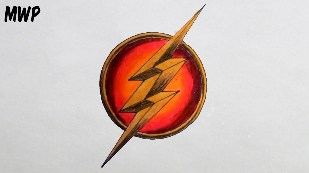 How To Draw The Flash Logo Step By Step Drawing With Dimensions Flash Logo Flash Drawing Logo Sketches