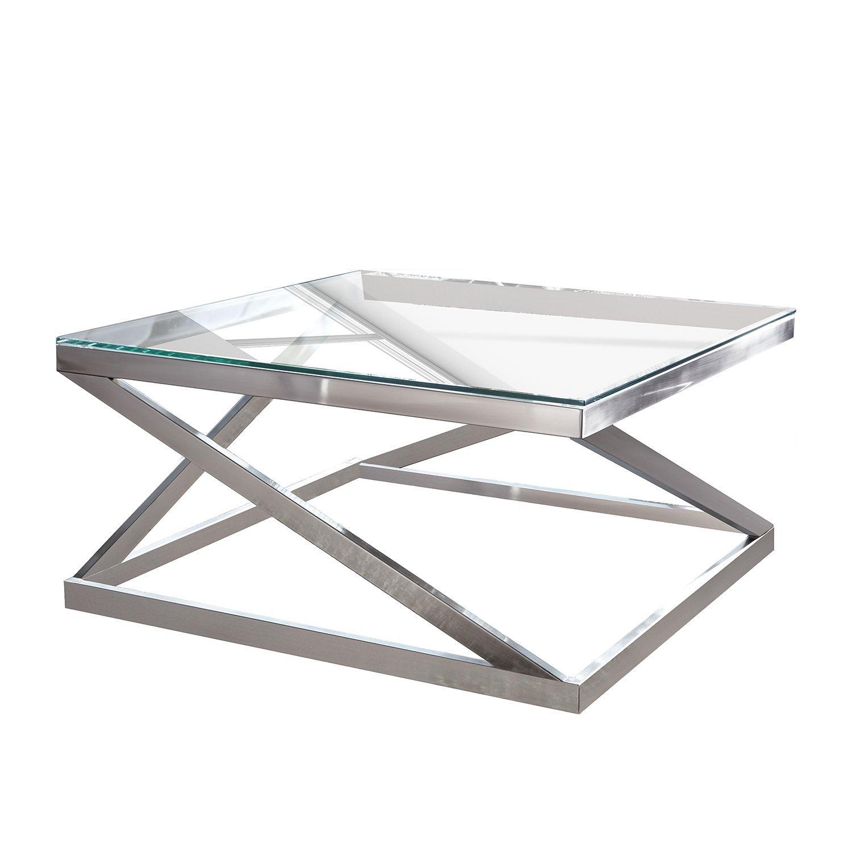 beistelltisch silber glas icnib. Black Bedroom Furniture Sets. Home Design Ideas