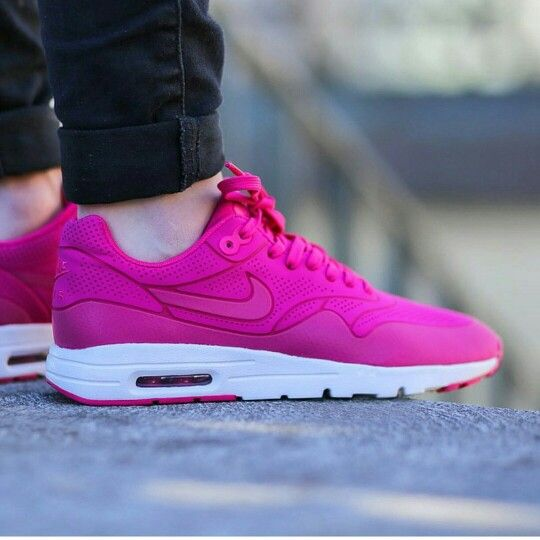 Nike WMNS Air Max 1 Ultra Moire Shoes Women's Sneaker Trainers Pink 5