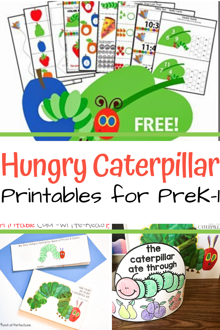 Photo of The Very Hungry Caterpillar Printables
