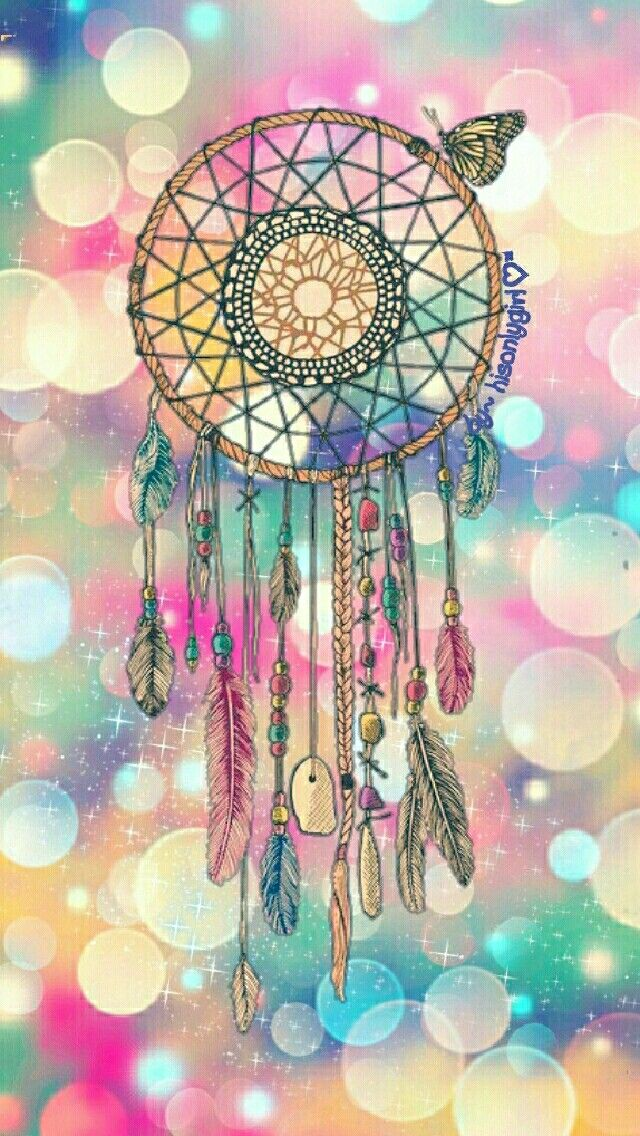 Who Created The Dream Catcher Dreamcatcher bokeh wallpaper I created for the app CocoPPa 27