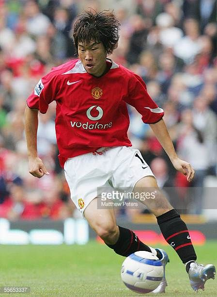 Ji Sung Park Of Manchester United During The Barclays Premiership Match Between Man Manchester United Manchester United Players Manchester United Football Club