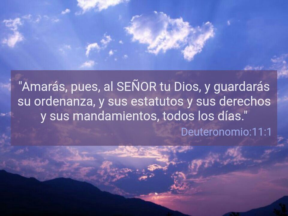 Deutonomio 11:1