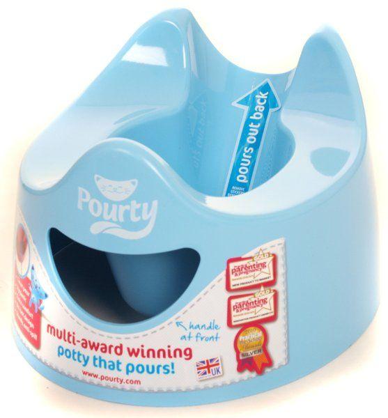 Pourty Easy To Pour Potty Blue Amazon Baby Baby Toilet Best Potty Baby Potty