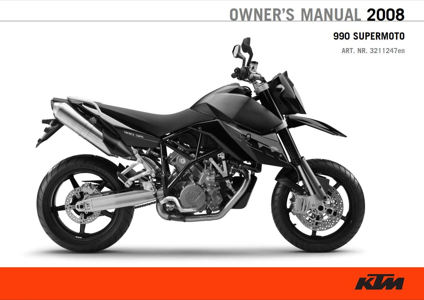 Ktm 990 Supermoto 2008 Owner S Manual Has Been Published On Procarmanuals Com Https Procarmanuals Com Ktm 990 Supermoto 2008 Own Supermoto Ktm Owners Manuals