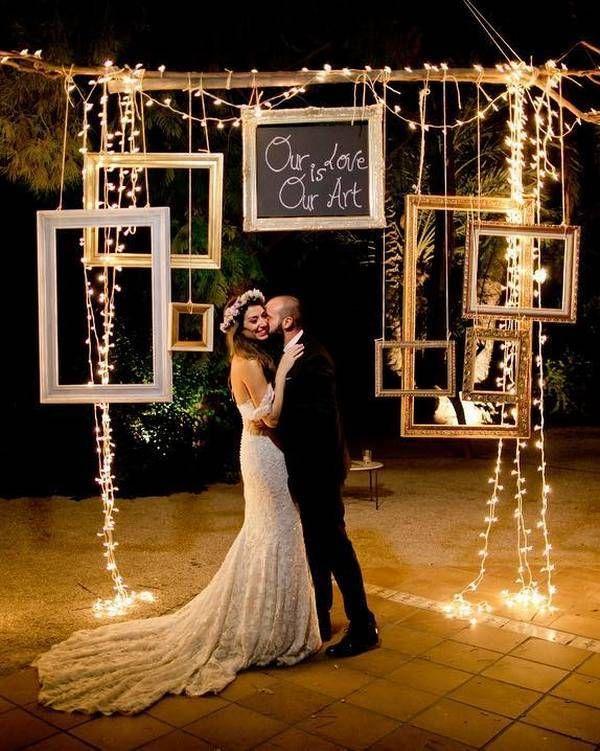 Top 20 debe ver fotos de bodas nocturnas con luz – Boda