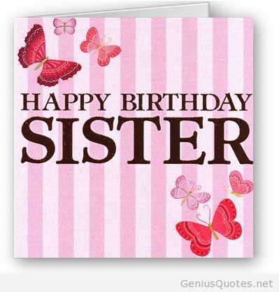 Happy Birthday To Lovely Sister Top 50 Quotes Sister Birthday Quotes Happy Birthday Sister Birthday Wishes For Sister