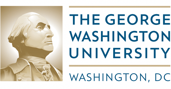 New George Washington University Logo Onlineschools Webcourses Coursesites Onlineclass George Washington University Online Education Programs Online Education