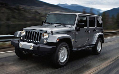 Jeep Wrangler Unlimited Suv As Seen On Tej Parker In Furious 7