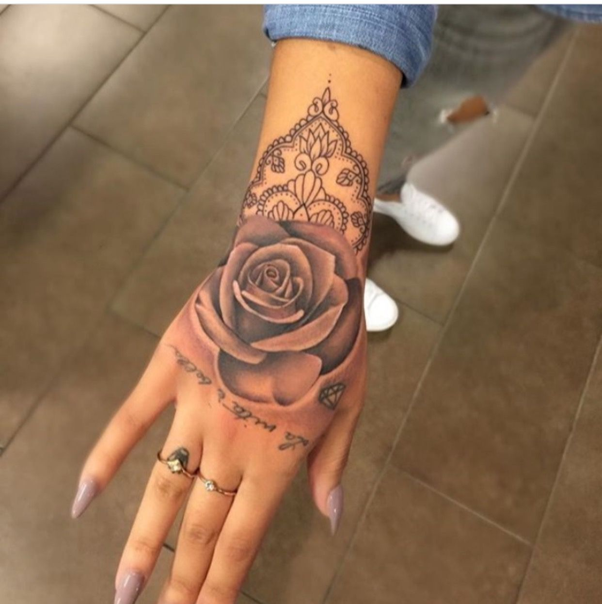 Follow Me Gottalovedesss If You Want More Pins Hand Tattoos For Women Tattoos Tattoos For Women