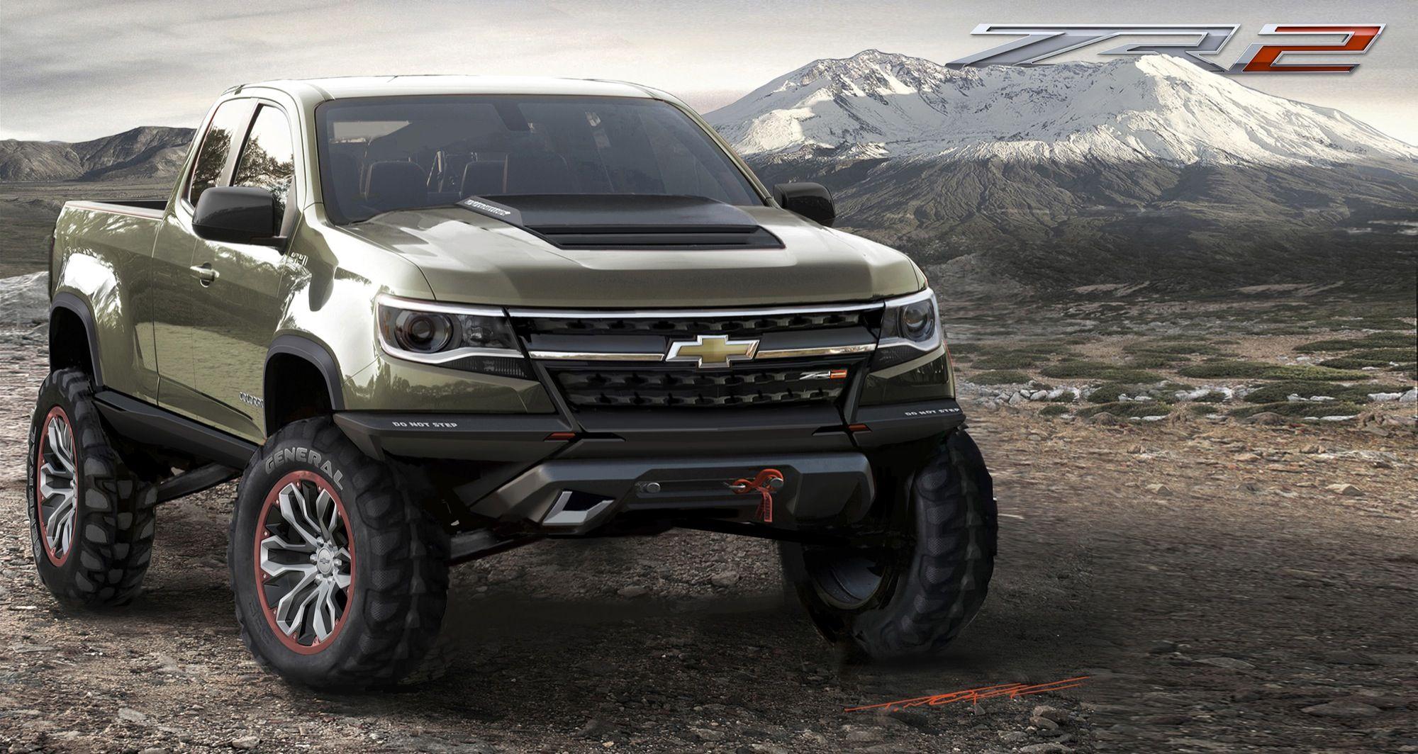 2015 Chevrolet Colorado Zr2 Concept Is Ready To Rock La 2014 Chevrolet Colorado Autos Chevrolet Camionetas