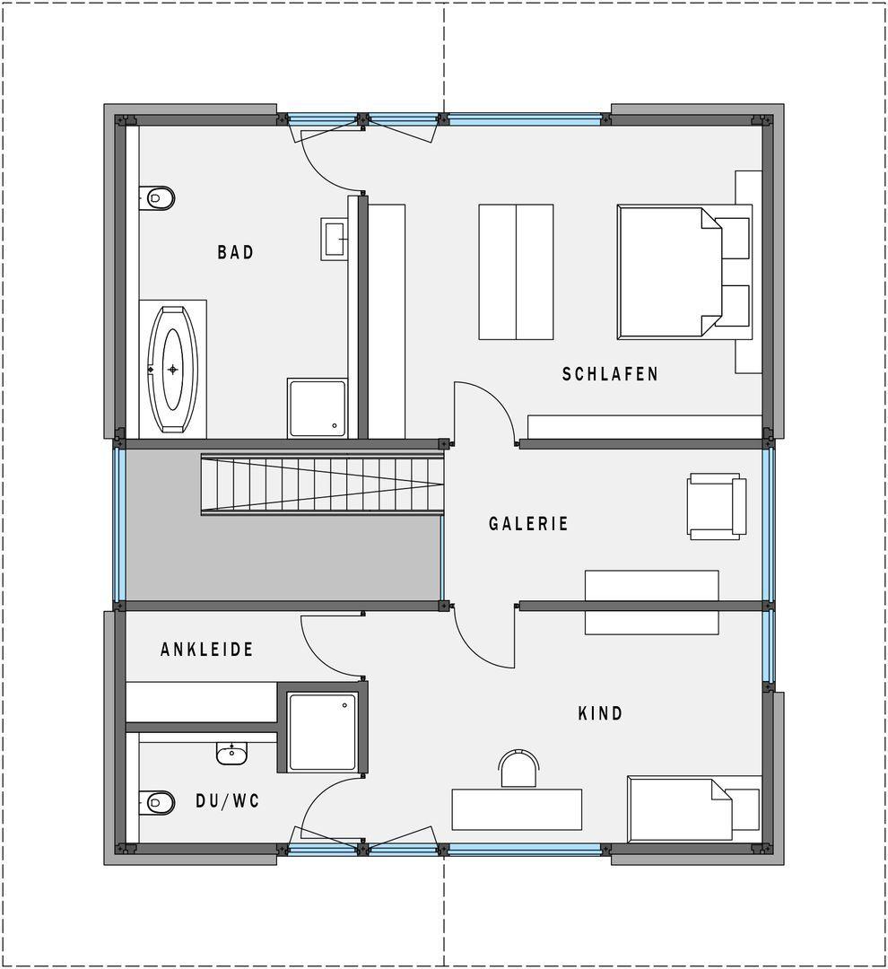 modum 8 9 huf haus pinterest fertigh user grundrisse und holz. Black Bedroom Furniture Sets. Home Design Ideas