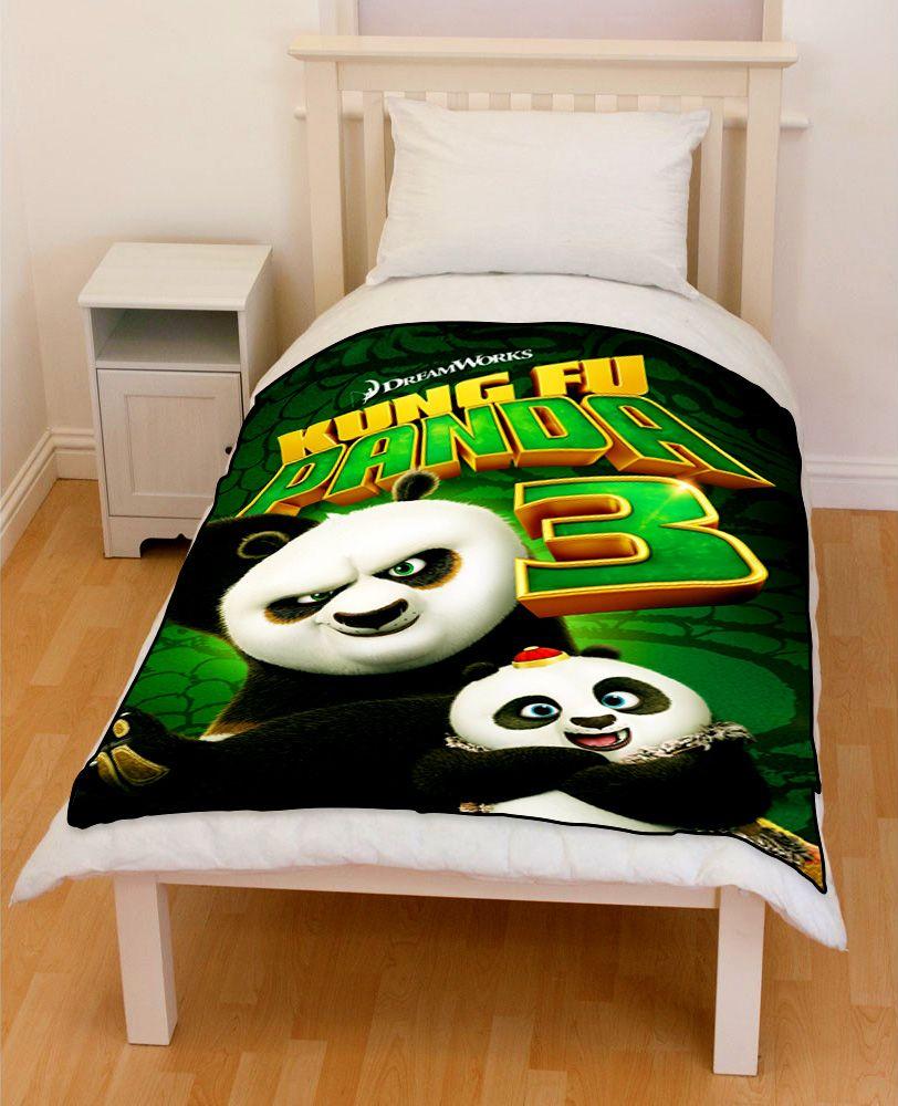 Kung Fu Panda 3 Bedding Throw Fleece Blanket Price 51 99 Special