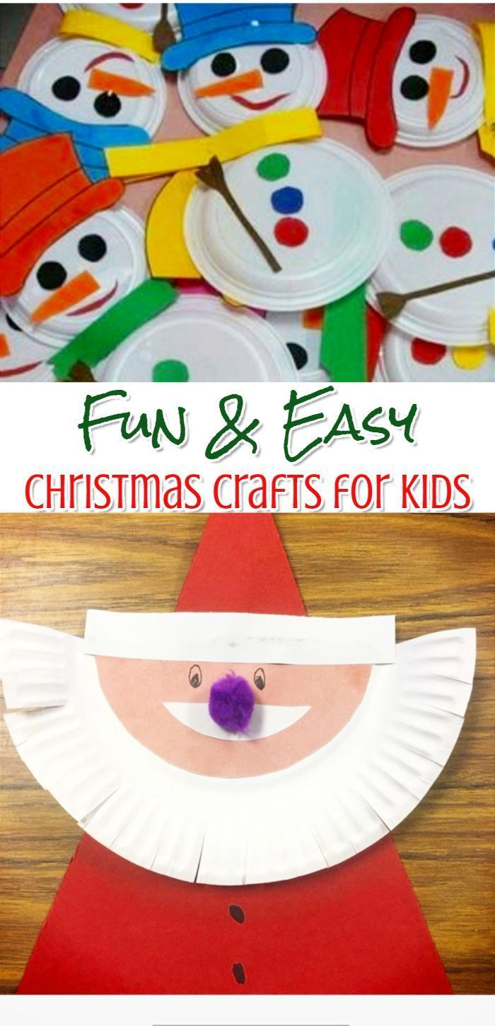 Christmas Craft Ideas 2019.Diy Christmas Crafts For Kids Easy Craft Projects For
