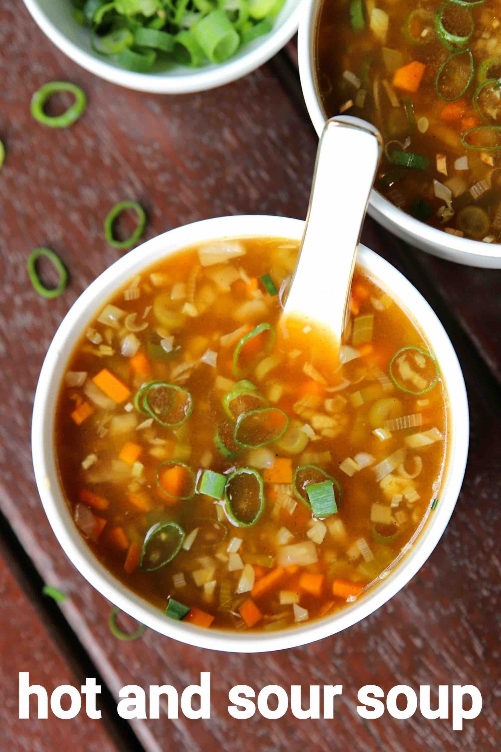 hot and sour soup recipe | hot n sour soup | hot s