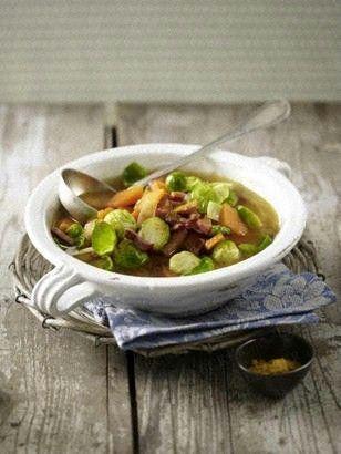 Curry-Rosenkohl-Eintopf Rezept Pinterest - Recepten