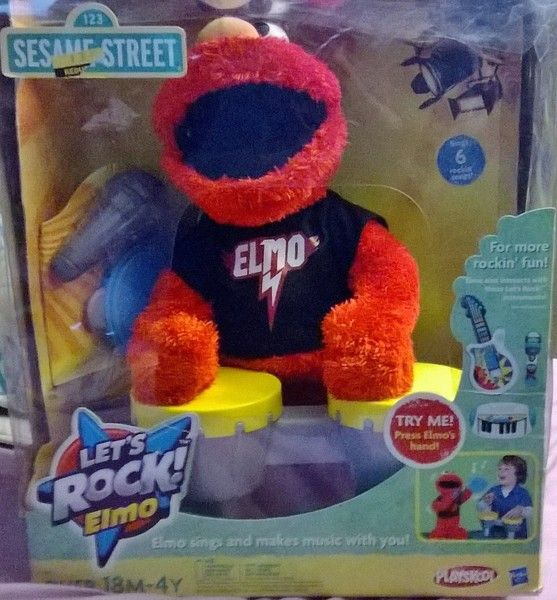 Lets Rock Elmo Yes Those Are Drums Awwweeesssome Christmas Presents For Boys Boys Christmas Elmo
