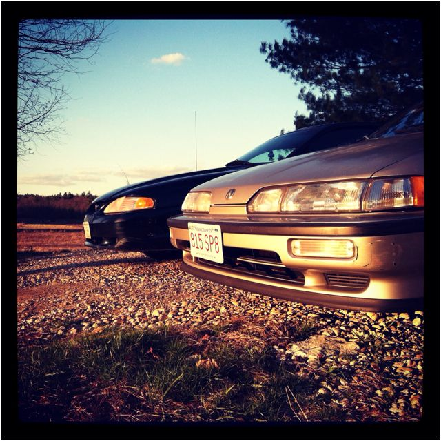 91 Acura Integra 95 Ford Mustang