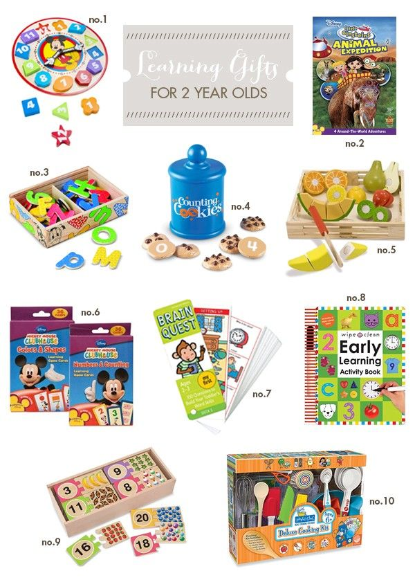 Best Learning Gifts For Two Year Olds Hellobee Little