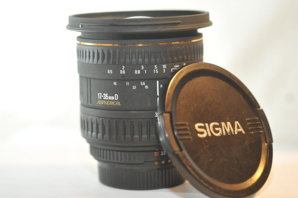 Sigma Ex 17 35mm F 2 8 4 D If Aspherical Lens For Nikon F3 Fm2 F100 D750 Df D850 Nikon F3 Nikon Lens