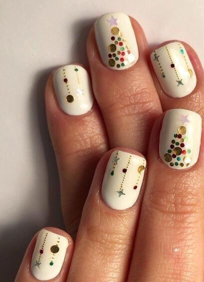60+ Festive Nail Design Ideas - Brighter Craft
