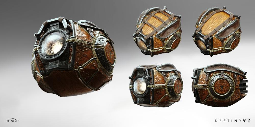 Artstation Destiny 2 Ghost Tex Mechanica Concept Alex Figini Destiny Sci Fi Props Ghost