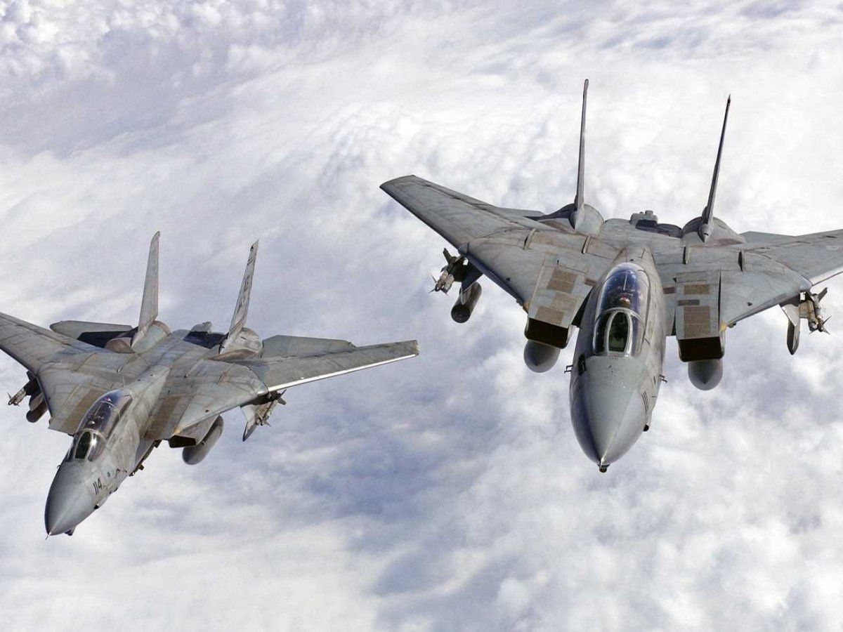 F 14 Tomcat Top Gun