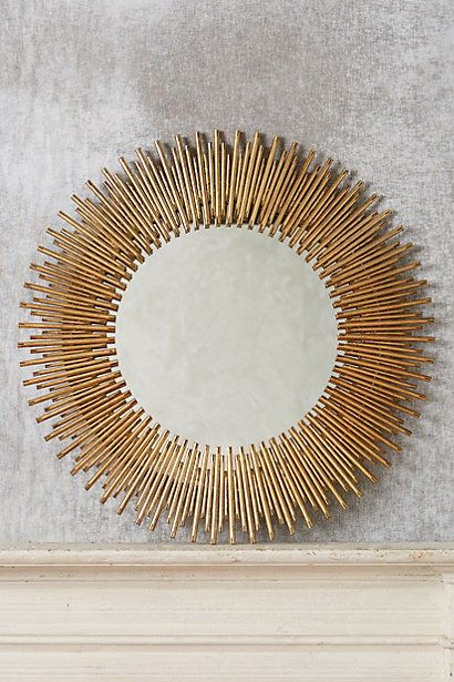 Decorative Objects Living Room: Helios Mirror #anthropologie