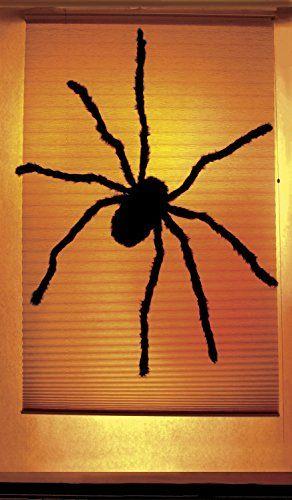 WOWindow Posters Black Widow Spider Halloween Window Deco - halloween window decorations