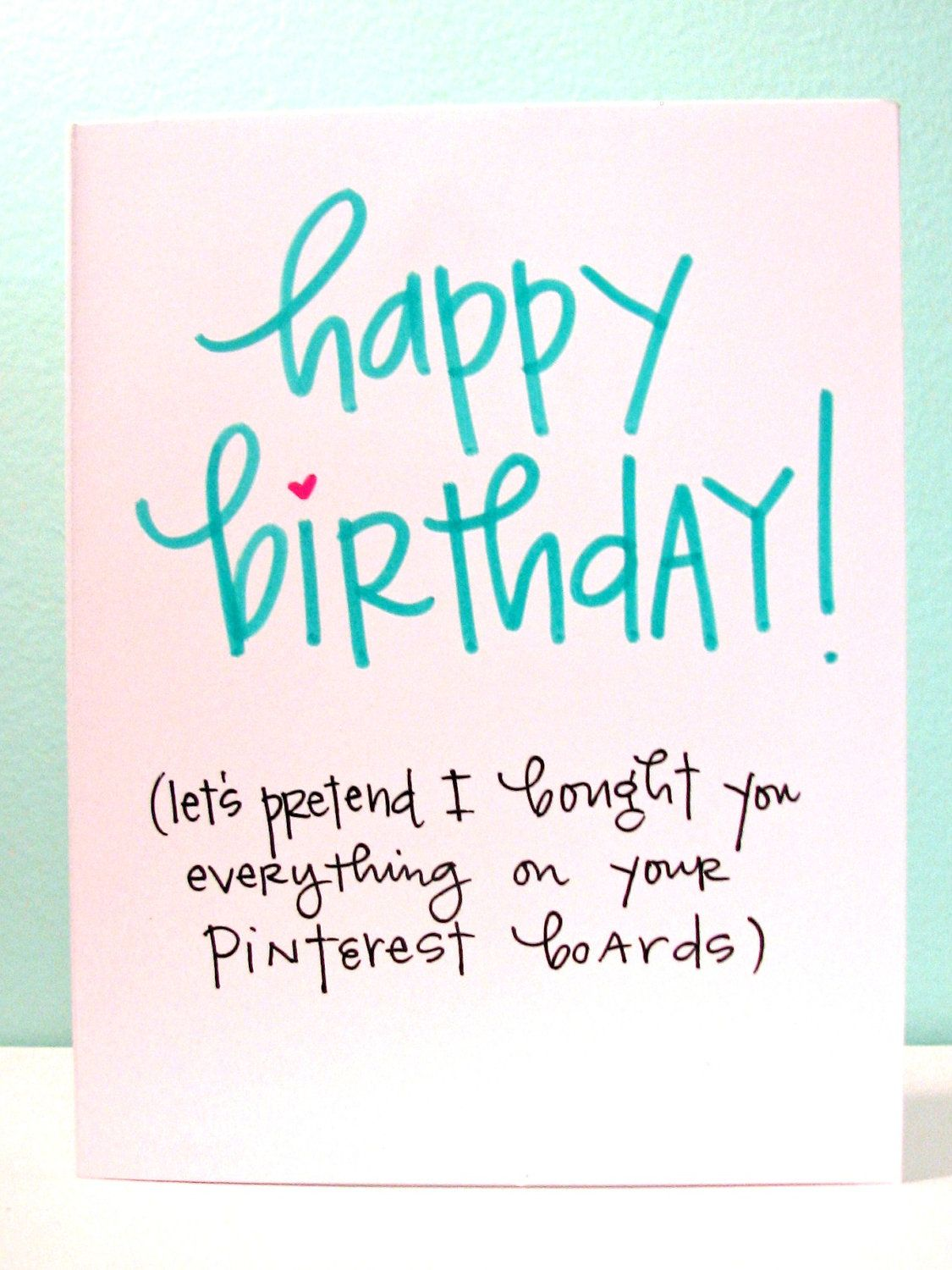 Happy Birthday Pinterest Lover By Lemonswithapea On Etsy With