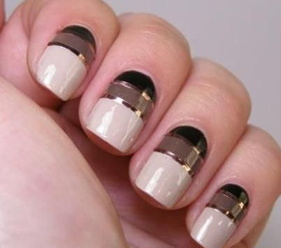 Nail Art Design Ideas 20 shockingly simple geometric nail art ideas youll love Stylish Nail Art Designs Ideas For Girls 2013
