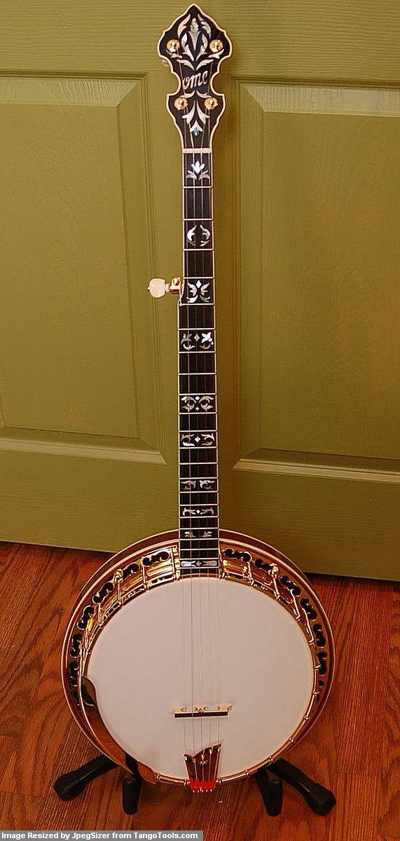 Ome Gold Odyssey Megatone Bluegrass   Banjos   Banjo, Guitar