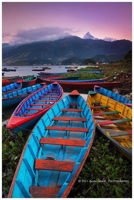 #Pokhara, #Nepal. Chill out life!