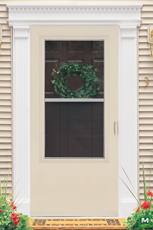 Upgrade Your Curb Appeal With A Larson Multi Vent Storm And Screen Door