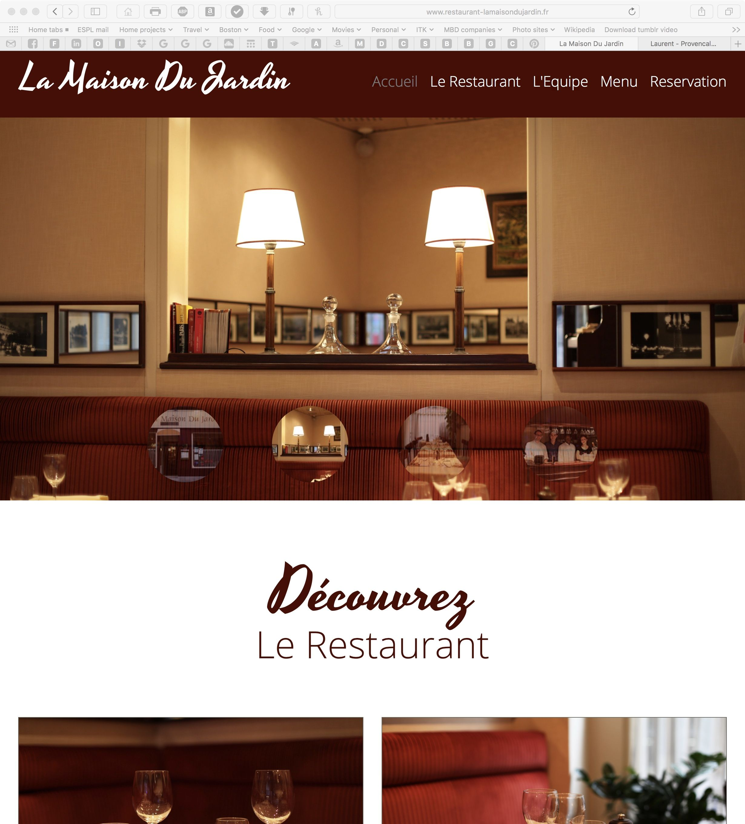 La Maison du Jardin restaurant in Paris | Paris 2018 | Pinterest