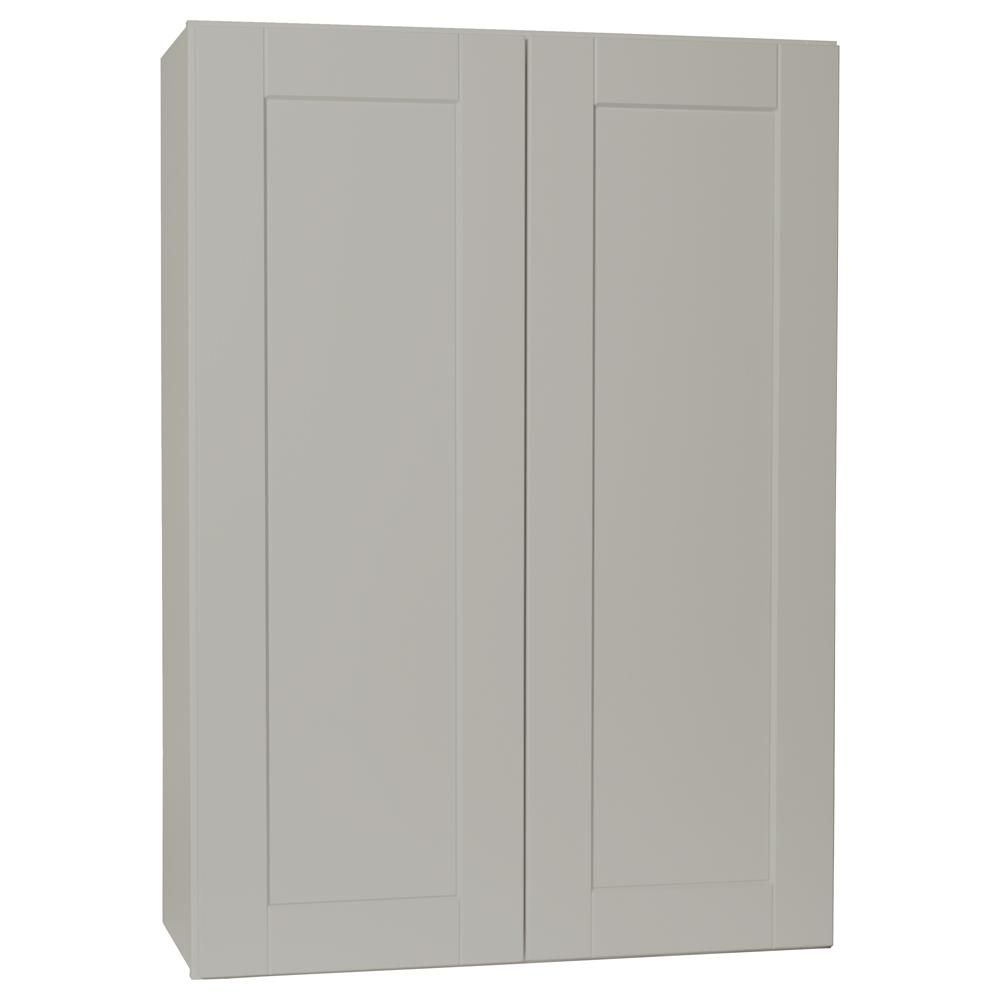 Best Hampton Bay Shaker Assembled 30X42X12 In Wall Kitchen 400 x 300