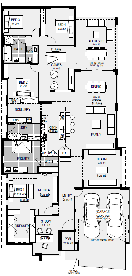 Display Homes Home Group My House Plans Home Design Floor Plans New House Plans