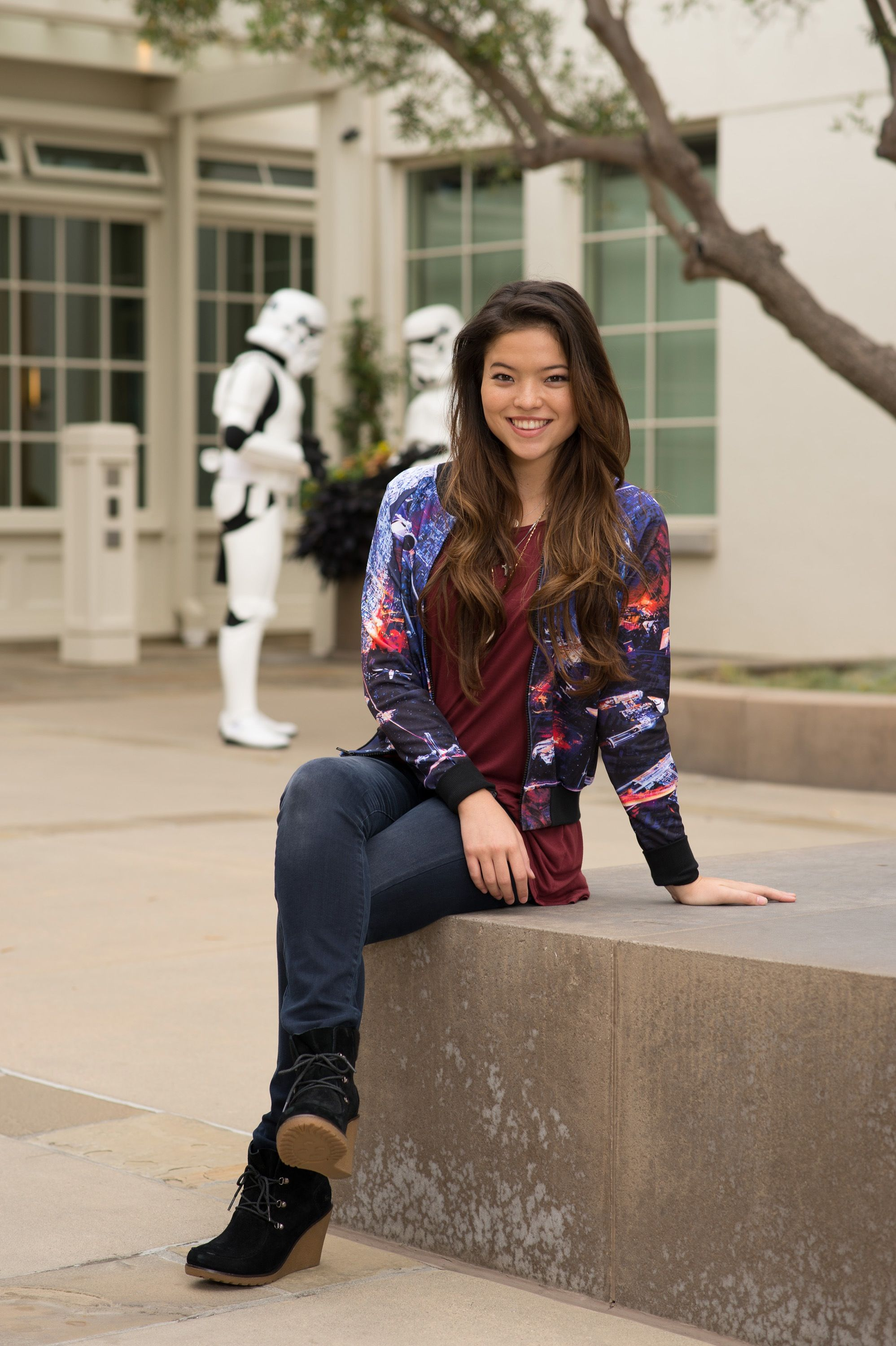 see your fave disney channel stars cool star wars makeovers my