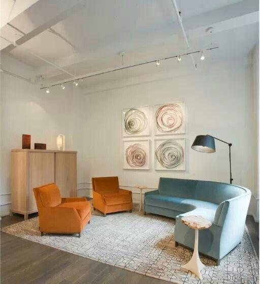 City Furniture Showroom: Perry Street Boomerang Sofa By Yabu Pushelberg 2007