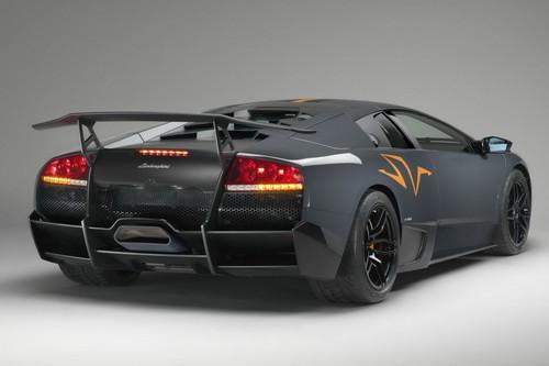 Lamborghini Murcielago Superveloce Back View 2 Lix Cars