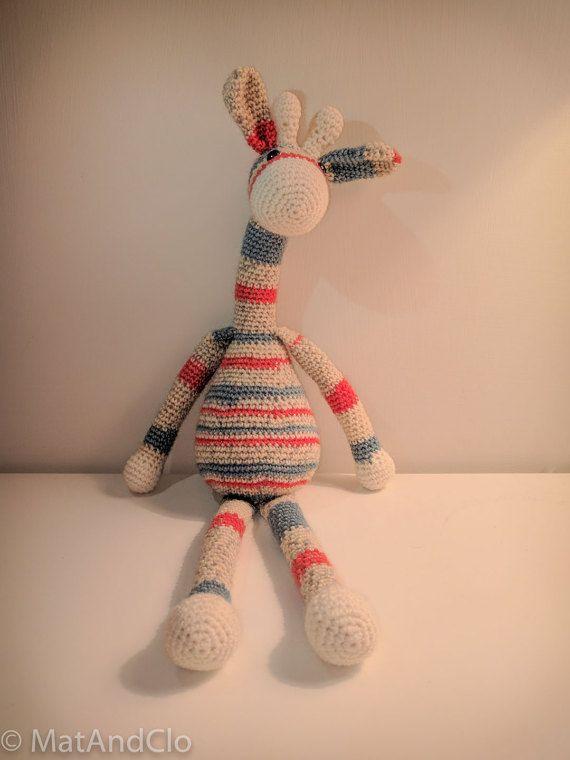Gigi the Giraffe by MatAndClo on Etsy