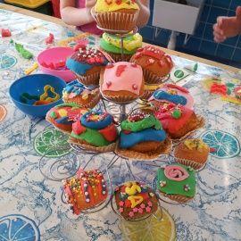 Kinderfeestje Cupcakes Versieren Kinderfeestjes Pinterest Cupcakes